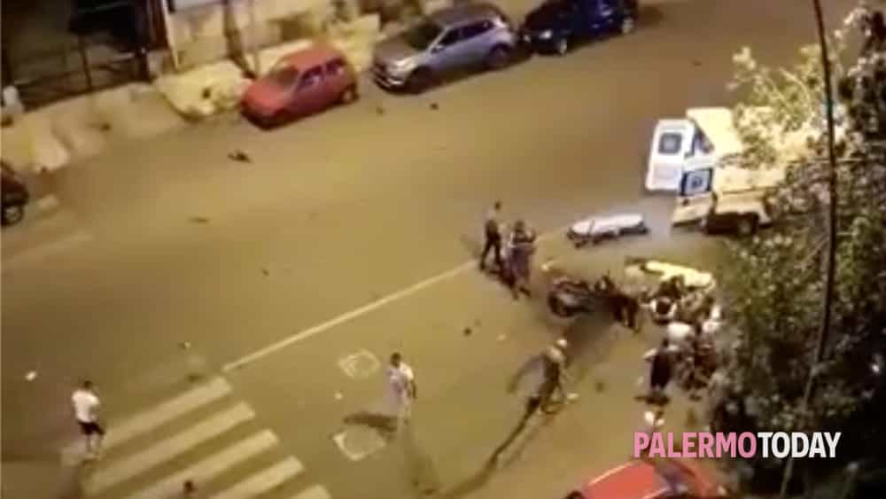 Incidente a Bonagia, scontro fra scooter: tre feriti gravi
