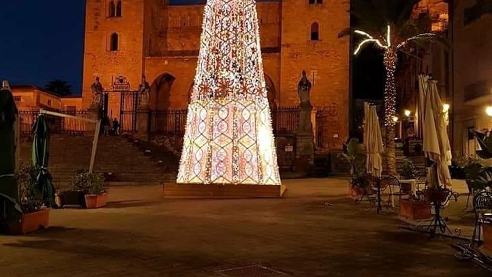 Gli alberi di Natale di Palermo e Provincia
