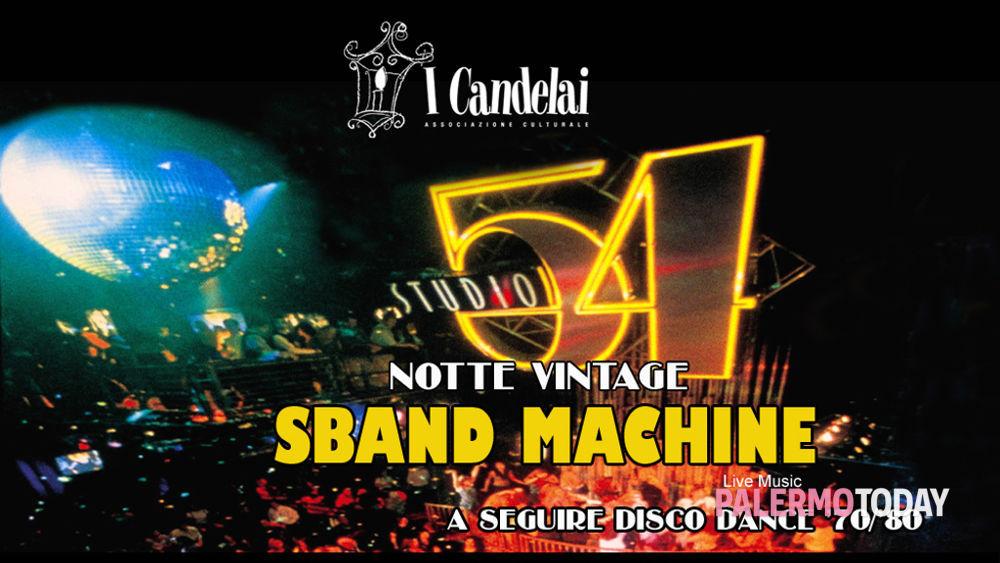 """""""Let's Dance"""": Concerto Vintage Con La Sband Machine, Ai"""
