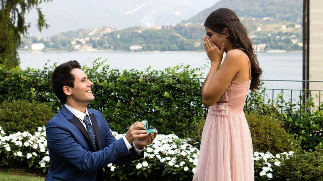 I Me contro Te si sposano: per Sofì proposta di matrimonio da sogno al lago  di Como
