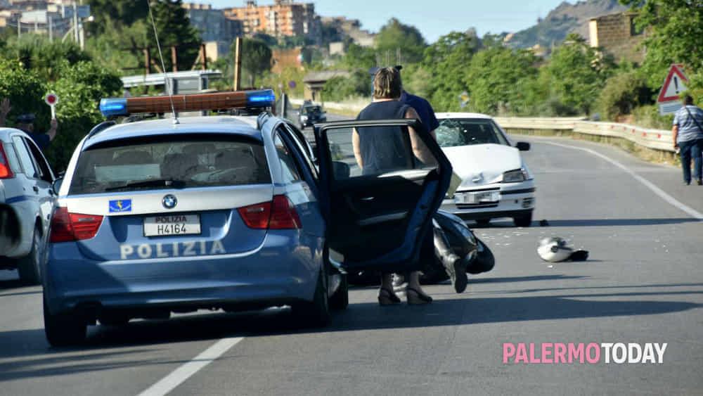 Incidente Sulla Palermo Agrigento L 39 Impatto All 39 Altezza
