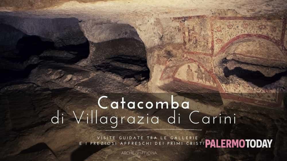 Tra gallerie e affreschi dei primi cristiani, tour alle catacombe di Villagrazia di Carini