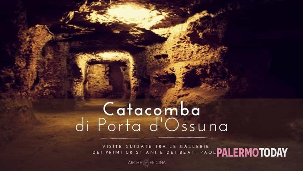 Ricominciano i tour alle catacombe di Porta d'Ossuna tra primi cristiani e Beati Paoli