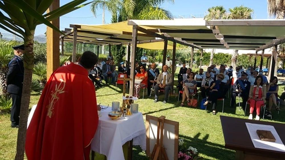 Gli agenti dell'Ucciardone e del Pagliarelli celebrano San Basilide
