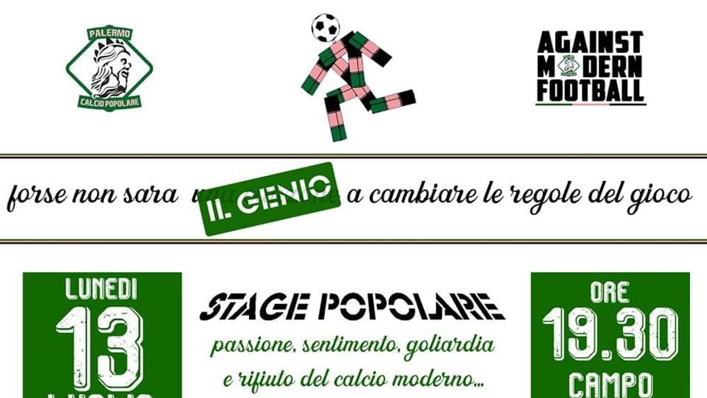 Il Calcio popolare pronto a ripartire: 13 luglio stage al campo del Cantiere Navale